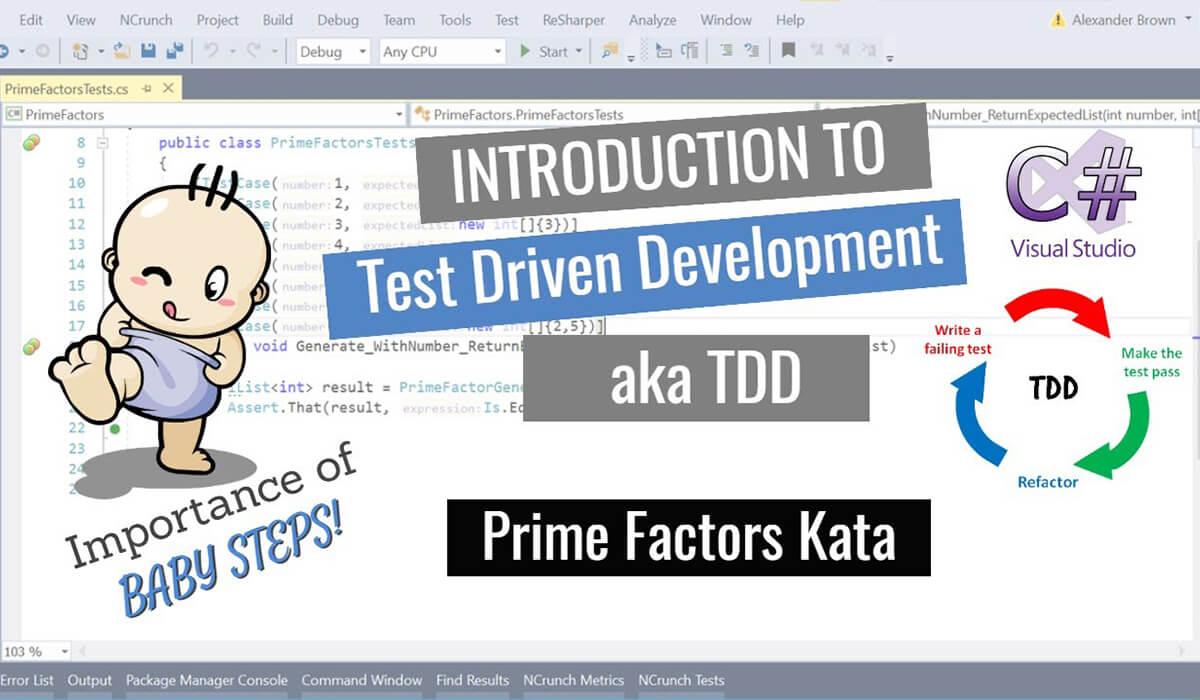 Introduction to test driven development aka TDD