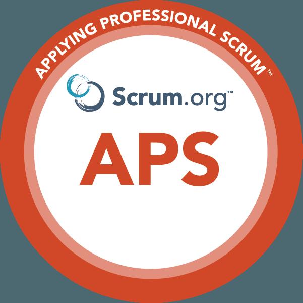 Applying Professional Scrum™ logo