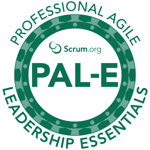 Professional Agile Leadership Essentials™ logo
