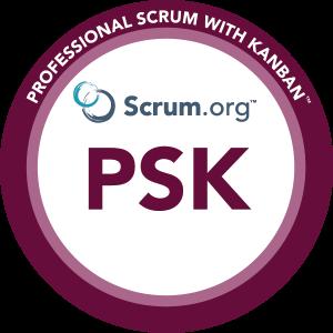 Professional Scrum With Kanban™ logo