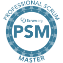 Professional Scrum Master logo