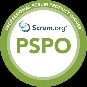 Scrum.org Professional Scrum Product Owner logo